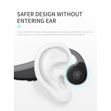 Waterproof sweat Resistant bluetooth bone conduction headset