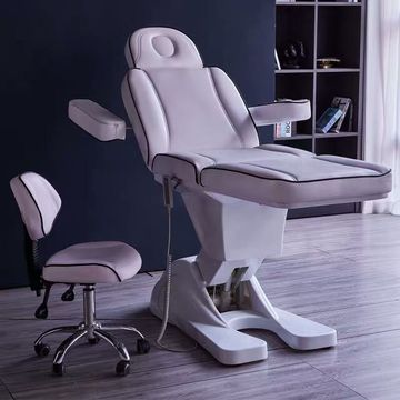 Podiatry dermatology chair electric facial bed
