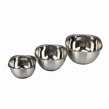 Hot Selling Stainless Steel Square Mixing Bowls