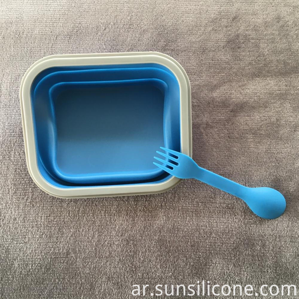 Food Container Silicone Bento Box