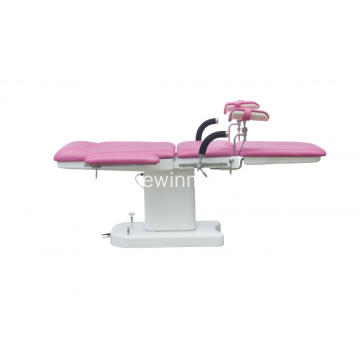 Customize color electric gynecological obstetric exam bed