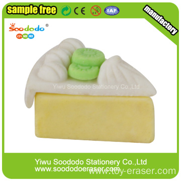 Cake Shaped Eraser cheap promotional erasers