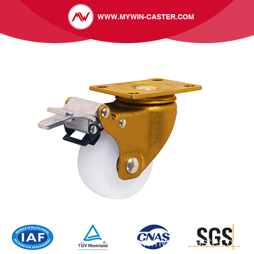 Brake Swivel Nylon Wheel Industrial Caster