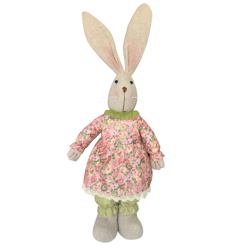 Easter Stuffed Rabbit Animal Toy