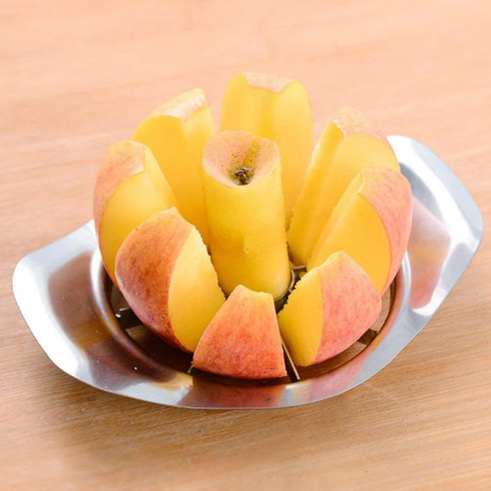 Heavy Duty Stainless Steel Apple Corer Slicer Peeler