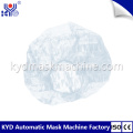 Automatic Disposable PE Bouffant Cap Making Machine