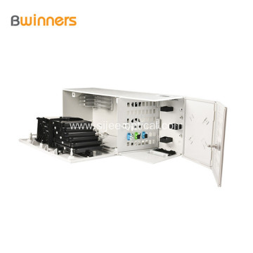 Outdoor Fiber Optic Termination Box 48 Core Wall Mounted