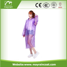 Eco Friendly Promotional Cheap Pe Raincoat