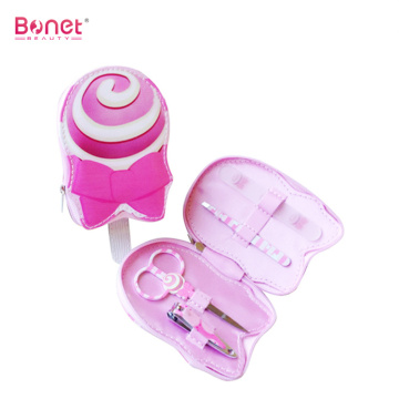 Stainless Steel Cute Mini Baby Manicure Set