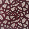 Elegant Velvet Laser Cut Sequin Embroidery Fabric