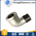 INQO brand galvanized elbow M.&F. pipe fittings