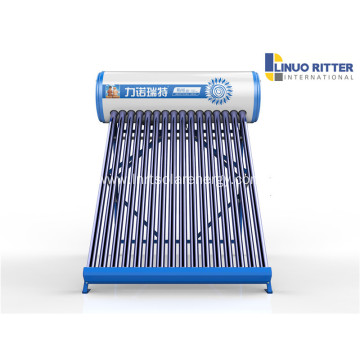 Non pressurized solar water heater diferent capacity