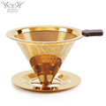 Stainless Steel Pour Over Coffee Filter Kit Paperless