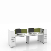 Modern Wooden Office Furniture Workstation Office Desk