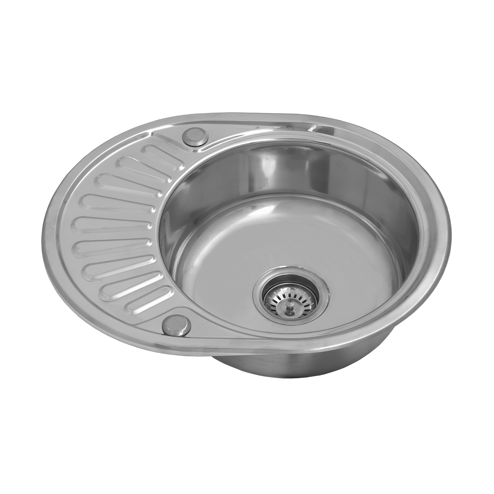 Kitchen Sink With Drainer Single Bowl
