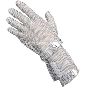 Slaughterhouse Boning Metallic Mesh Gloves