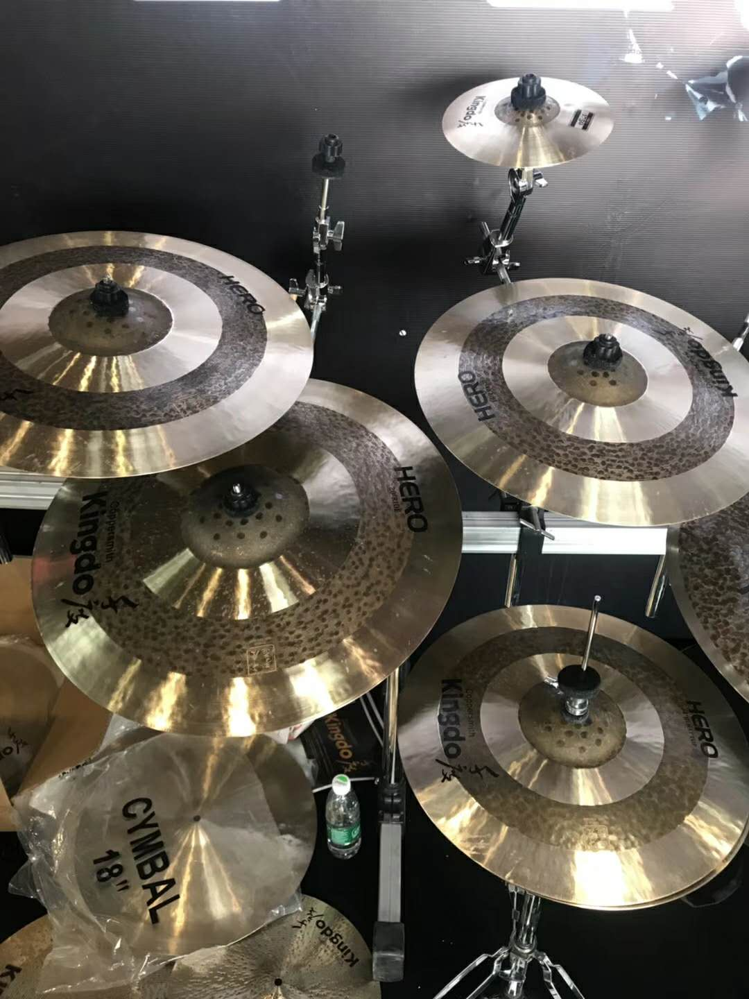 Splash Music Instrument Cymbals