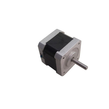 Square flange nema 17 hybrid stepper motor for printers   12v stepper motor