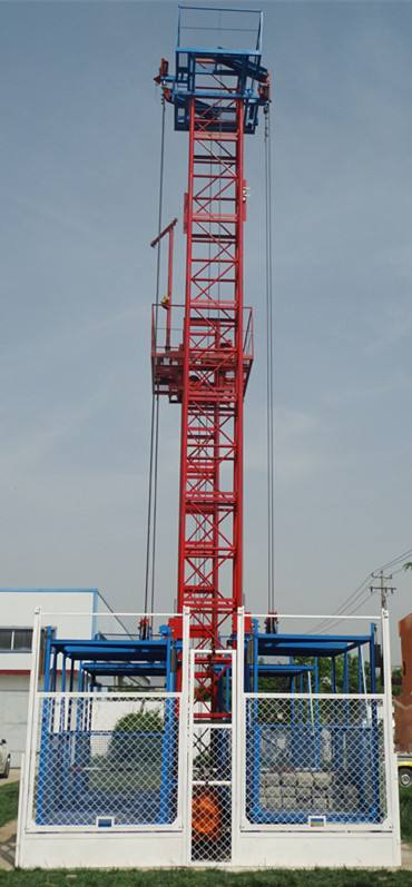 Ce Approved Construction Hoist Building Hoist Elevator Supplier