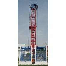China for Materials Hoist Single Double Cage Wire Rope Construction Materials Elevator supply to South Africa Importers
