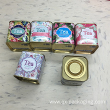 Custom printed tin gift box