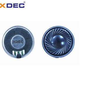 High Quality for Doorbell Speaker 32mm pattern 8ohm 0.5w miniature mylar speakers supply to Liberia Suppliers