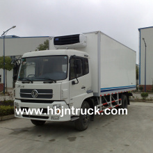 Dongfeng 10 ton Refrigerated Van Truck For Sale