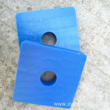 100% Original Factory for China Bakelite Products Processing, Plastic Products Processing supplier Blue Color Plastic Nylon Plate CNC Machined Nylon PA6 Part supply to Japan Manufacturer