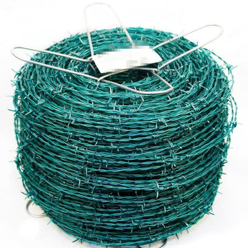 PVC Coated Double Barbed Wire Mesh Coil