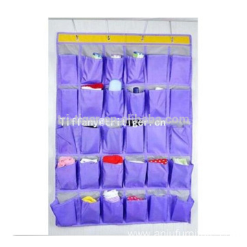 fashion non woven 30 pockets hanging fabric wall storage organizer