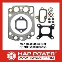 100% Original for Engine Complete Gasket Set Man Head gasket set 51009006658 export to Uzbekistan Supplier