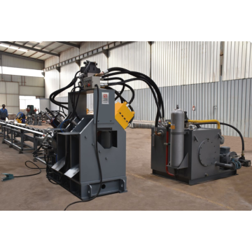 Channel Steel Punching Marking Shearing Line