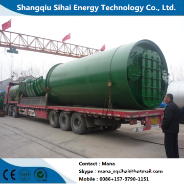 Processing Fuel Oil with Waste Tires Machine
