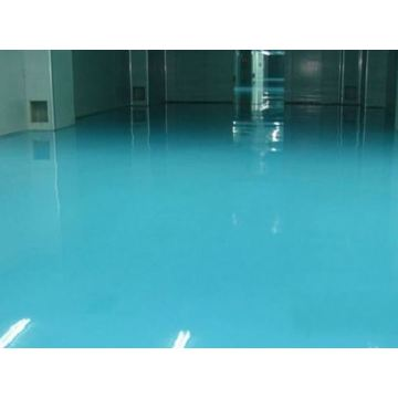 Factory solvent-free epoxy self-leveling coating