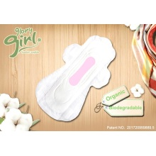 Disposable natural menstrual pads for women