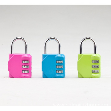 Leading for Zinc Alloy Padlock 3 Color Cheap Combination Lock export to Qatar Suppliers