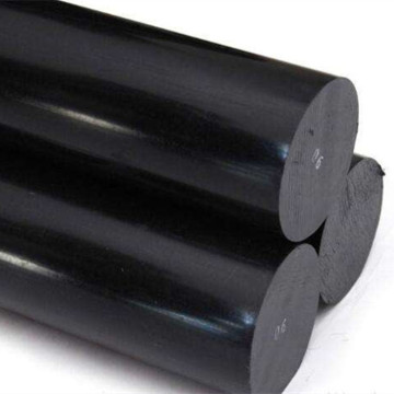 Natural and Black ABS Rod