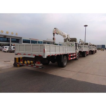 Light Duty Truck Mounted Crane 5 Tons Sinotruk