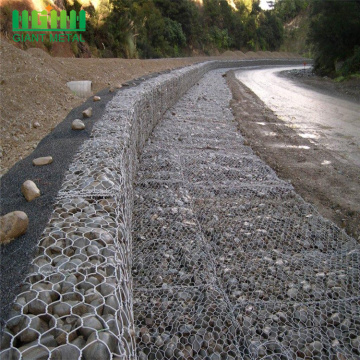 HGMT hexagonal rockfall protection netting sack gabion