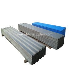No-asbestos Heat-proof MgO Corrugated Roof Sheet