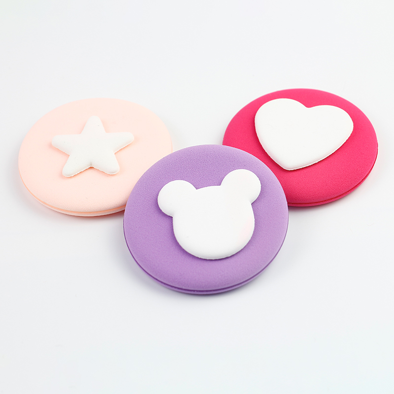 Air cushion cartoon sponge puff
