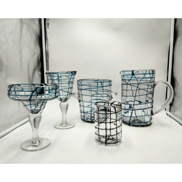 martini glass wine cup drinking glass set