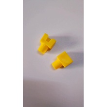 Funda Botas RJ45 color amarillo
