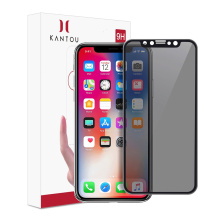 Factory Supply Factory price for Iphone X Tempered Glass KANTOU Privacy Best Screen Protector for iPhone X supply to Armenia Exporter