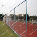 Aluminum clad removable chain link fence