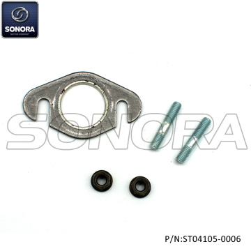 Exhaust gasket with studs and nuts M6x32mm(P/N:ST04105-0006) top quality