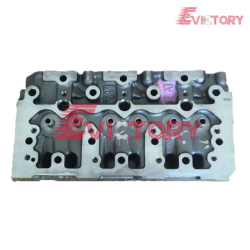 3TNV88 cylinder head block crankshaft connecting rod