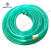 High performance blue pvc transparent hose