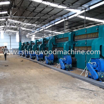 High Drying Capacity Core Veneer Dryer Machine