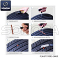 Tire repair kit small Size (P/N:ST07005-0000) Top Quality
